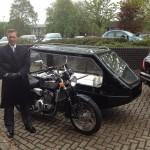 motorbike hearse